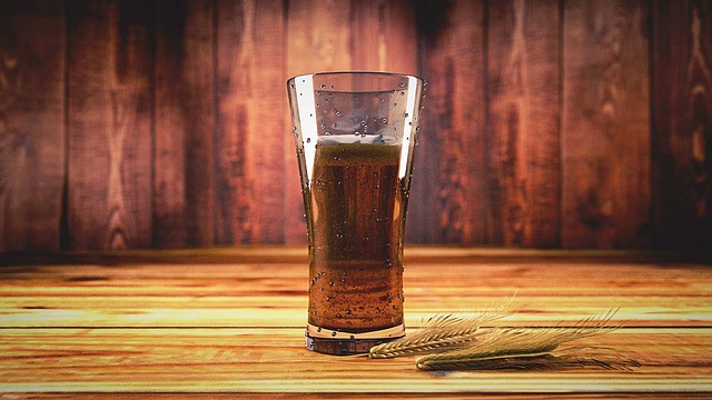 Beer with barley