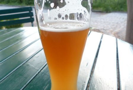 beer, hazy