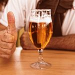 beer thumbs up